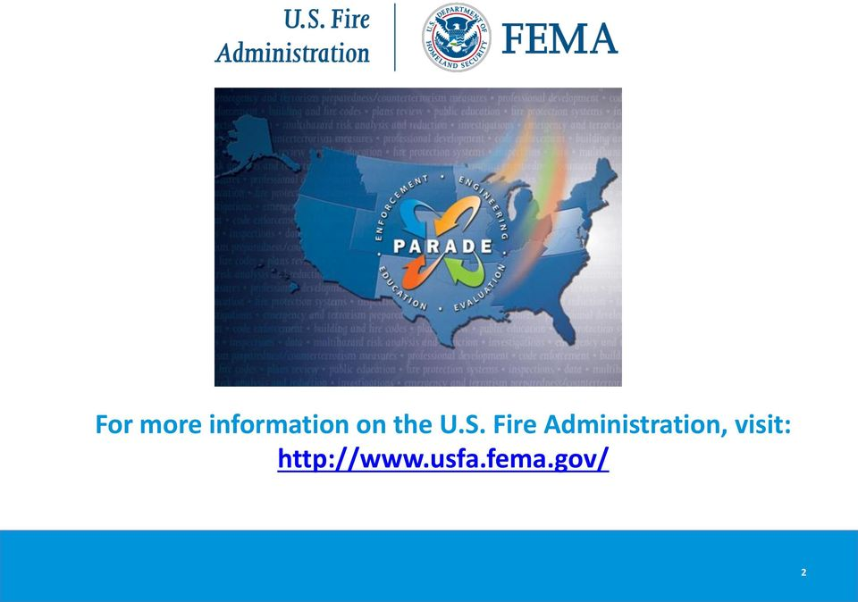 Fire Administration,