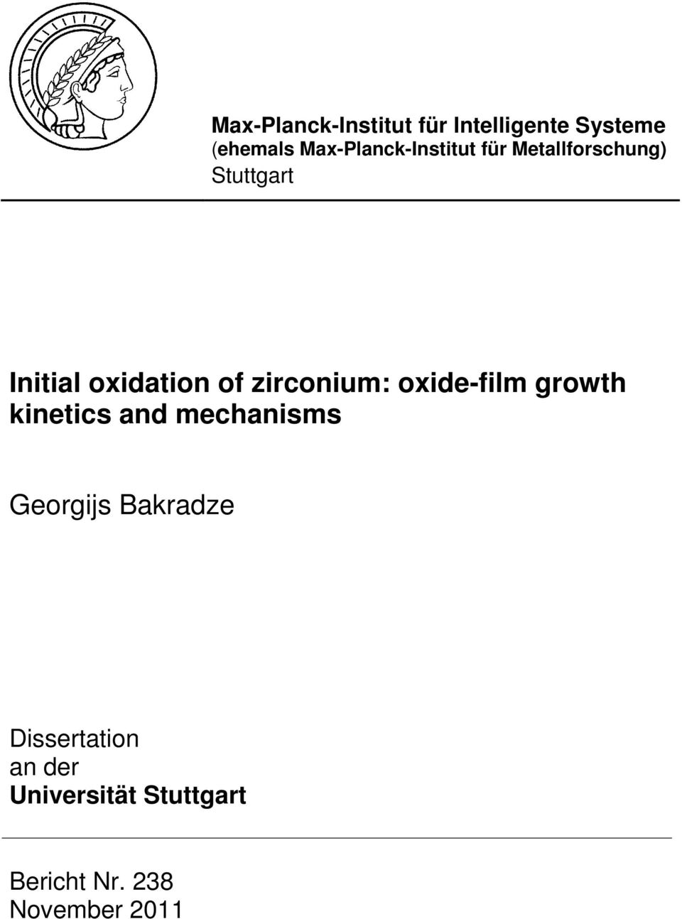 oxidation of zirconium: oxide-film growth kinetics and mechanisms