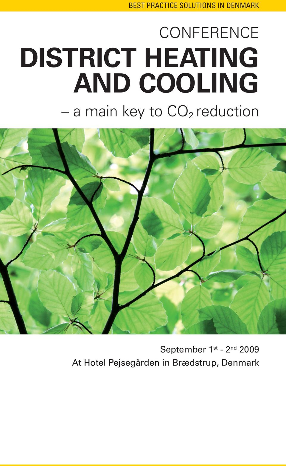 main key to CO 2 reduction September 1 st -