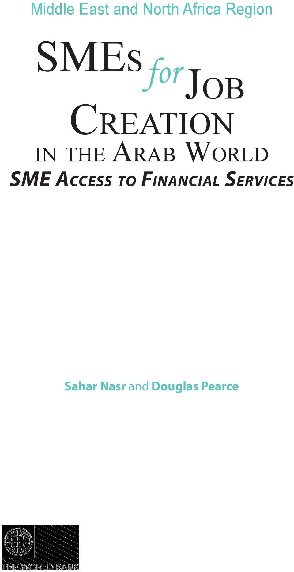 in the Arab World SME Access to