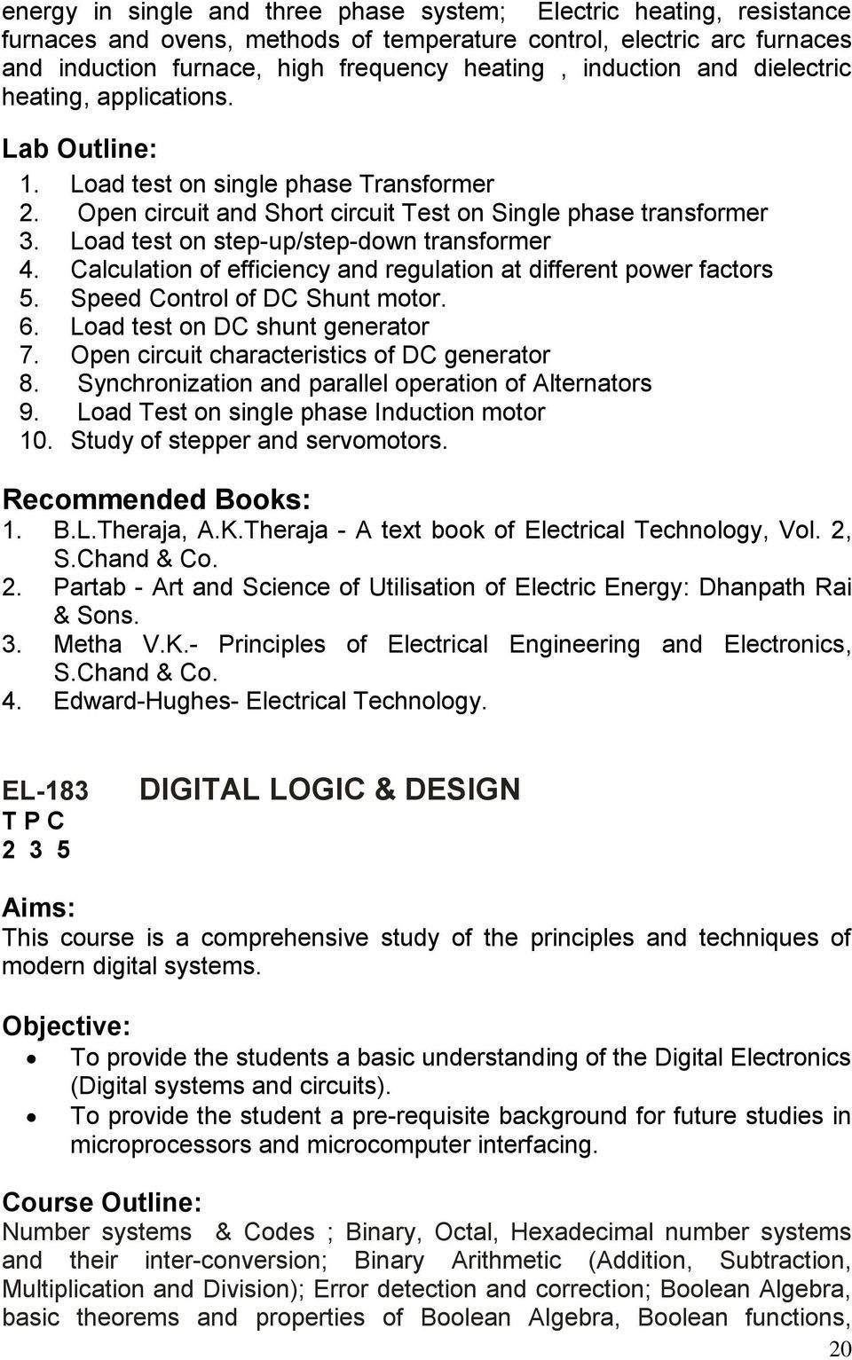 Higher Education Commission Islamabad Pakistan Pdf Electronic Circuits Simple Electronics Electronical Basic Load Test On Step Up Down Transformer 4 Calculation Of Efficiency