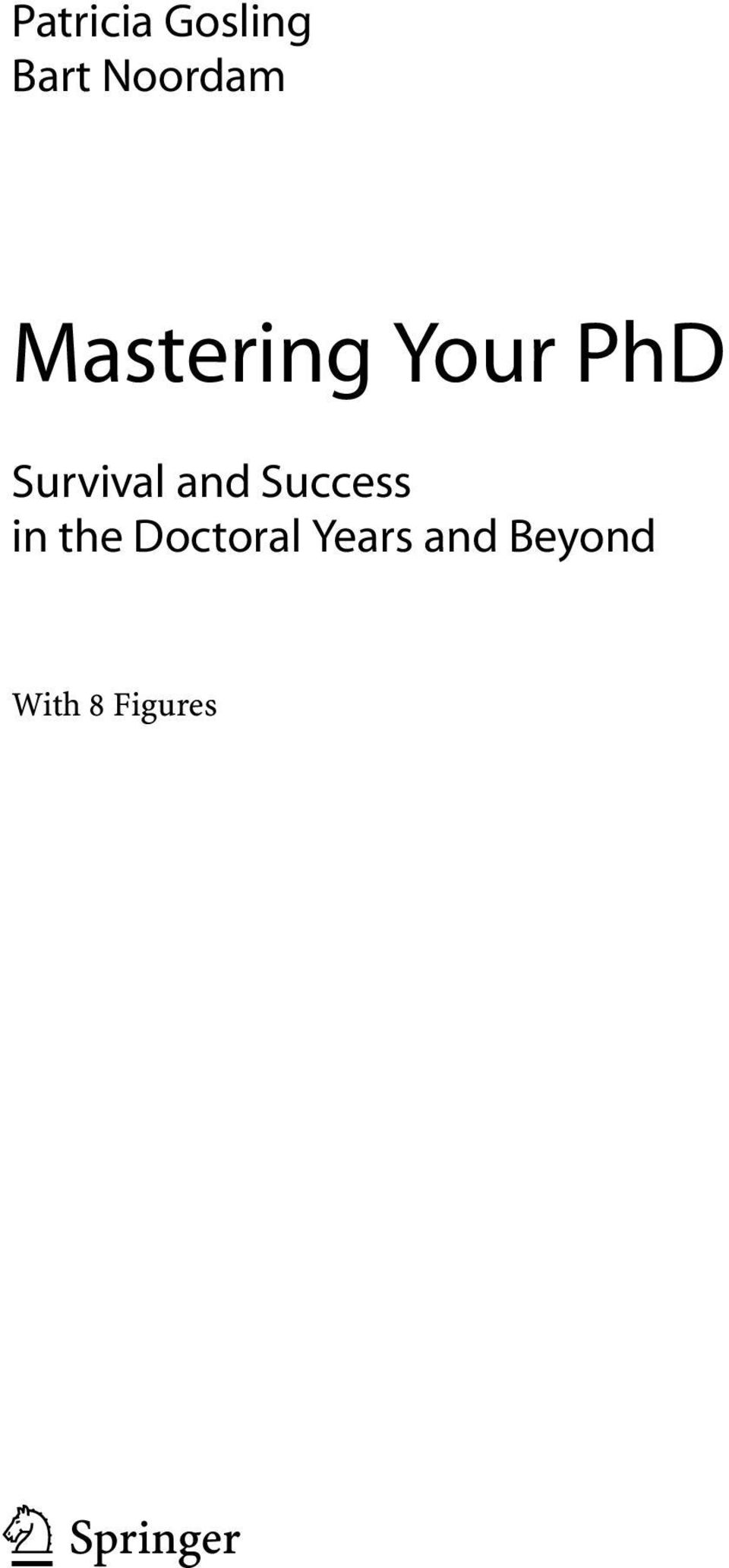and Success in the Doctoral