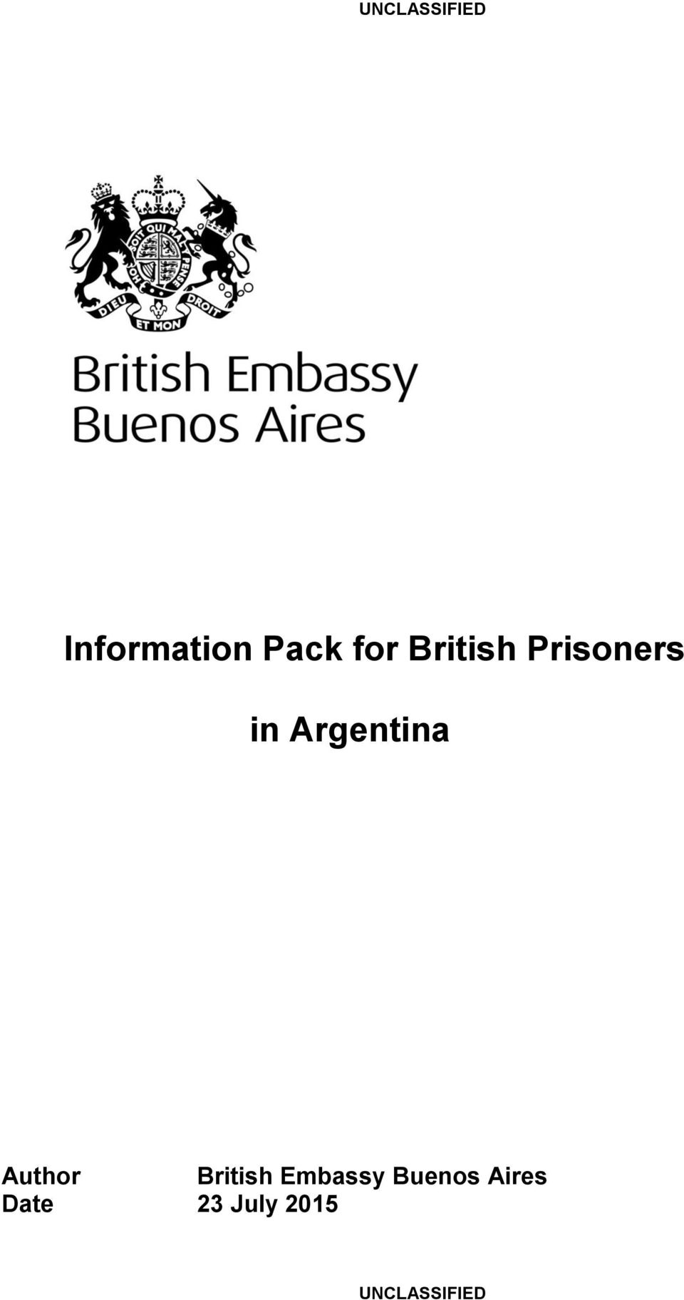 Argentina Author British