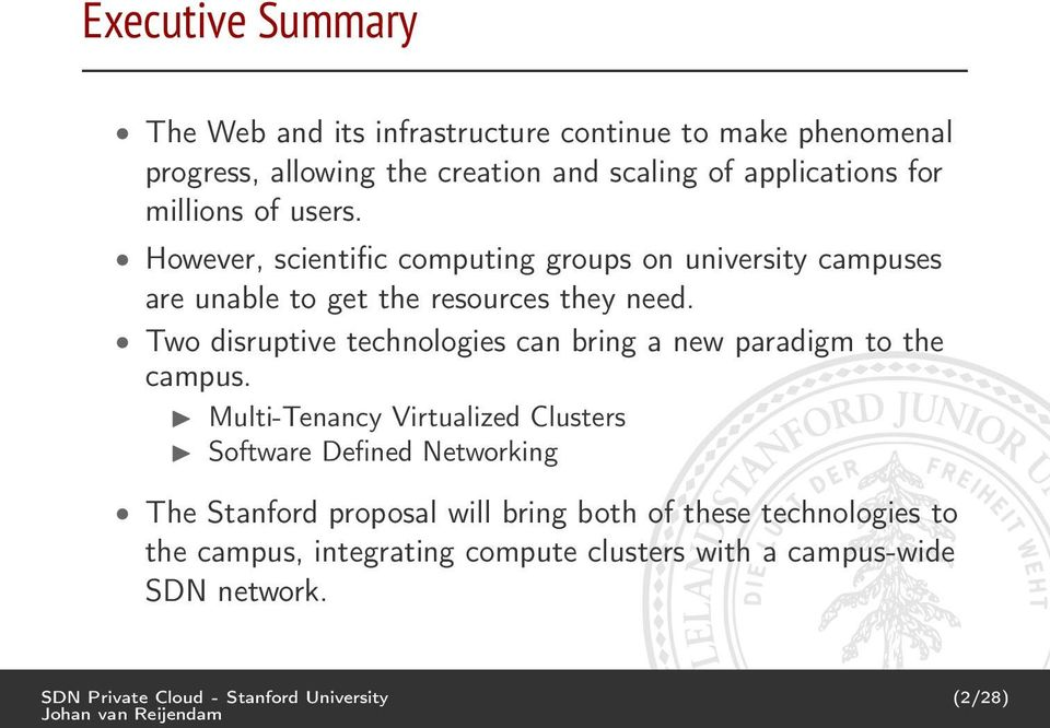 Two disruptive technologies can bring a new paradigm to the campus.