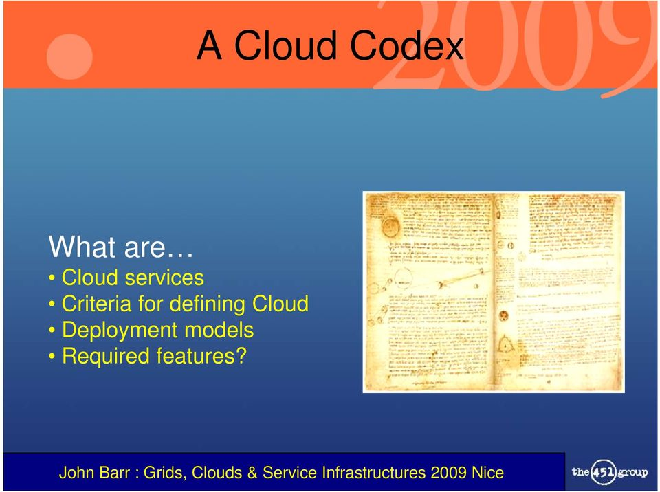 for defining Cloud