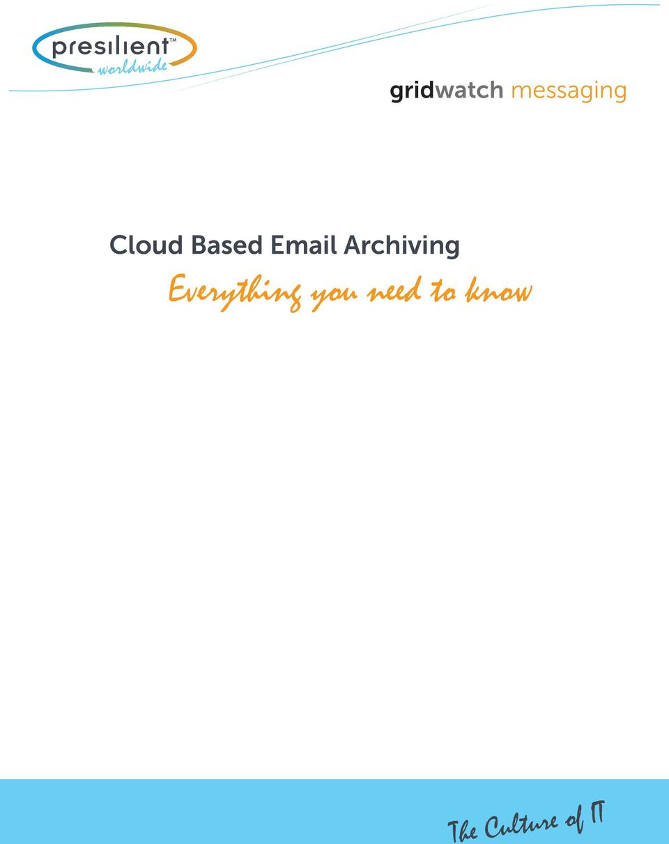 Cloud Based Email