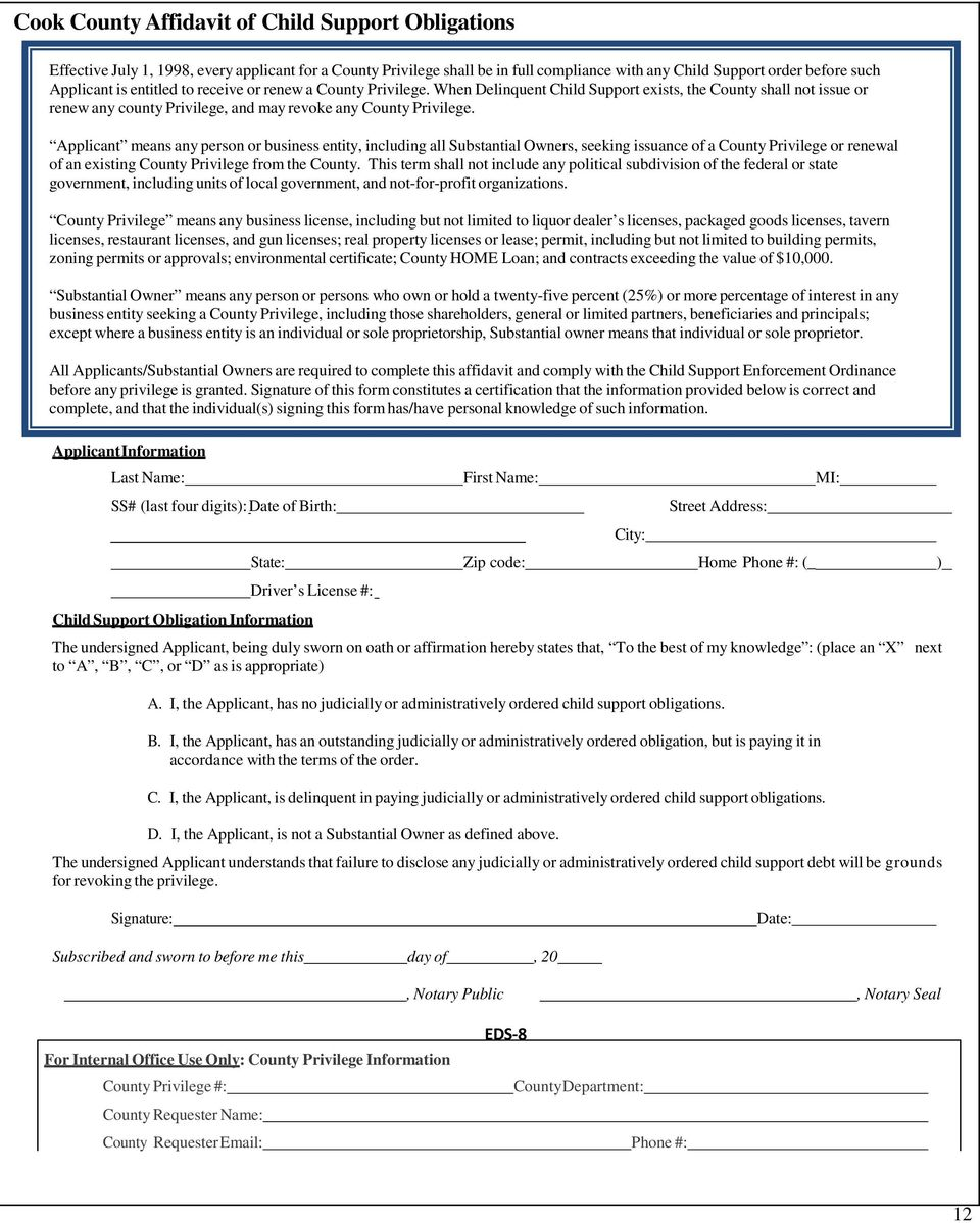 Applicant means any person or business entity, including all Substantial Owners, seeking issuance of a County Privilege or renewal of an existing County Privilege from the County.