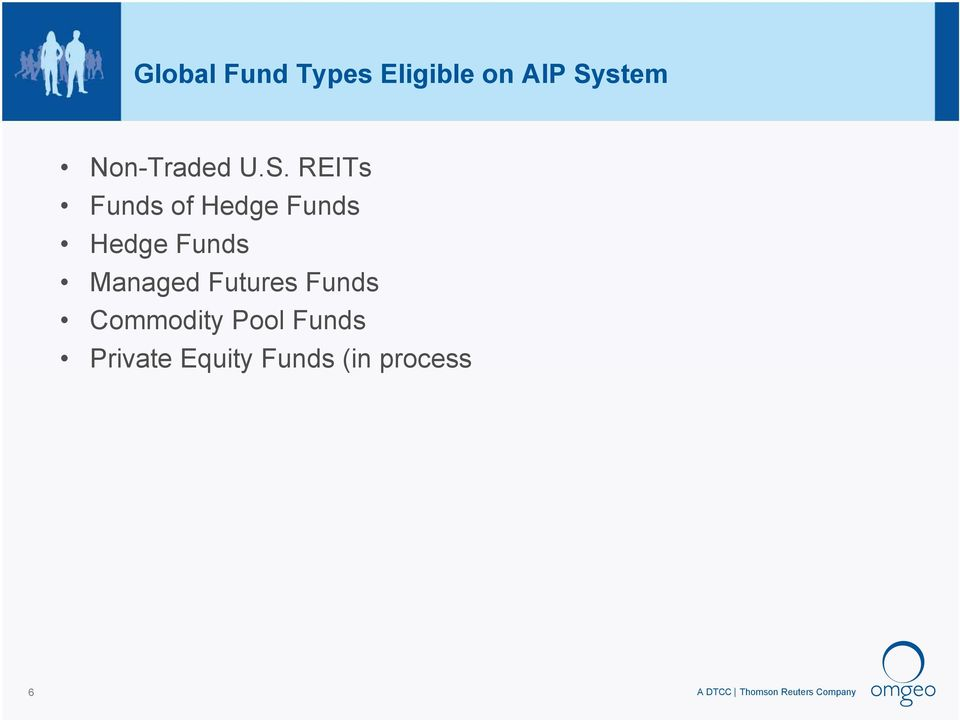 REITs Funds of Hedge Funds Hedge Funds