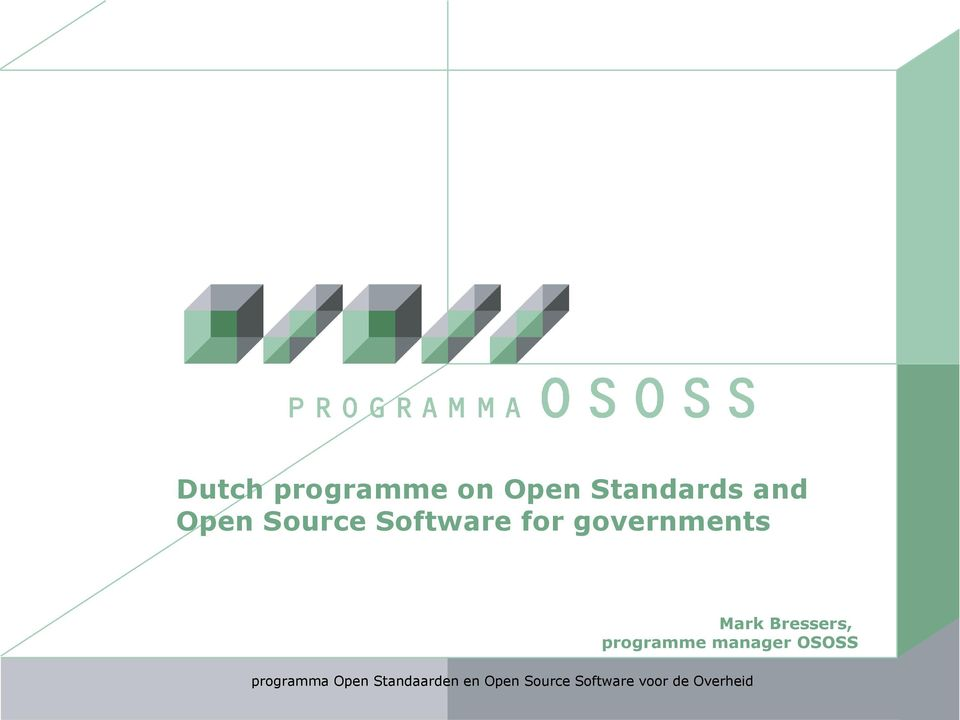 Software for governments