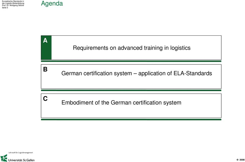 certification system application of