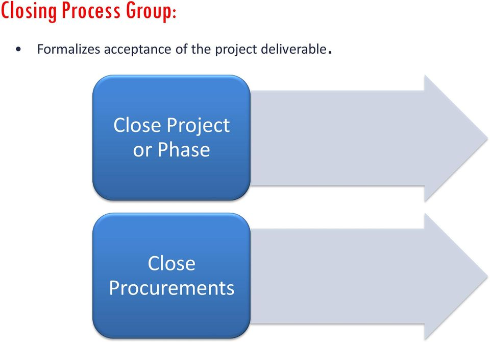project deliverable.