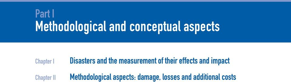 measurement of their effects and impact