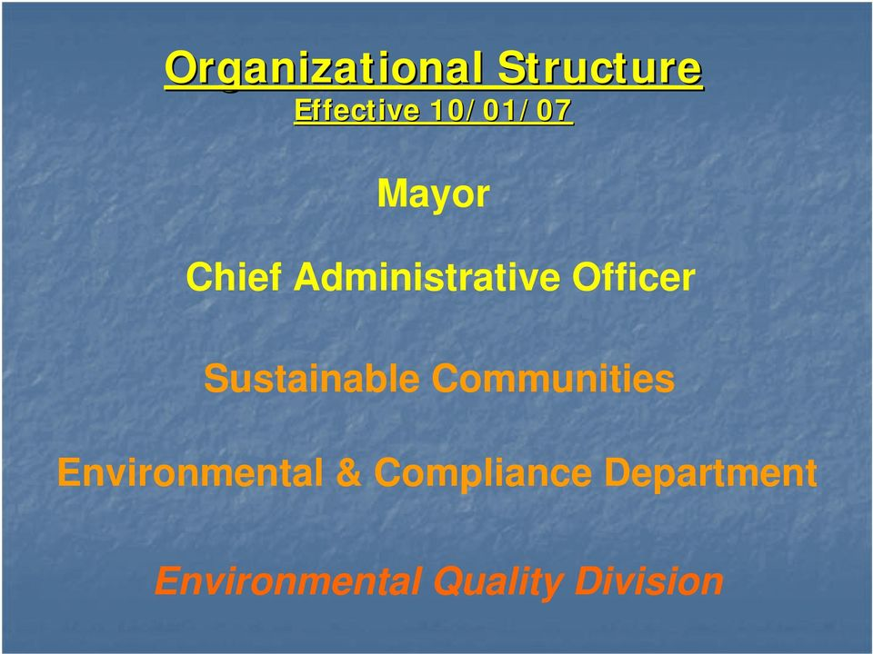 Officer Sustainable Communities