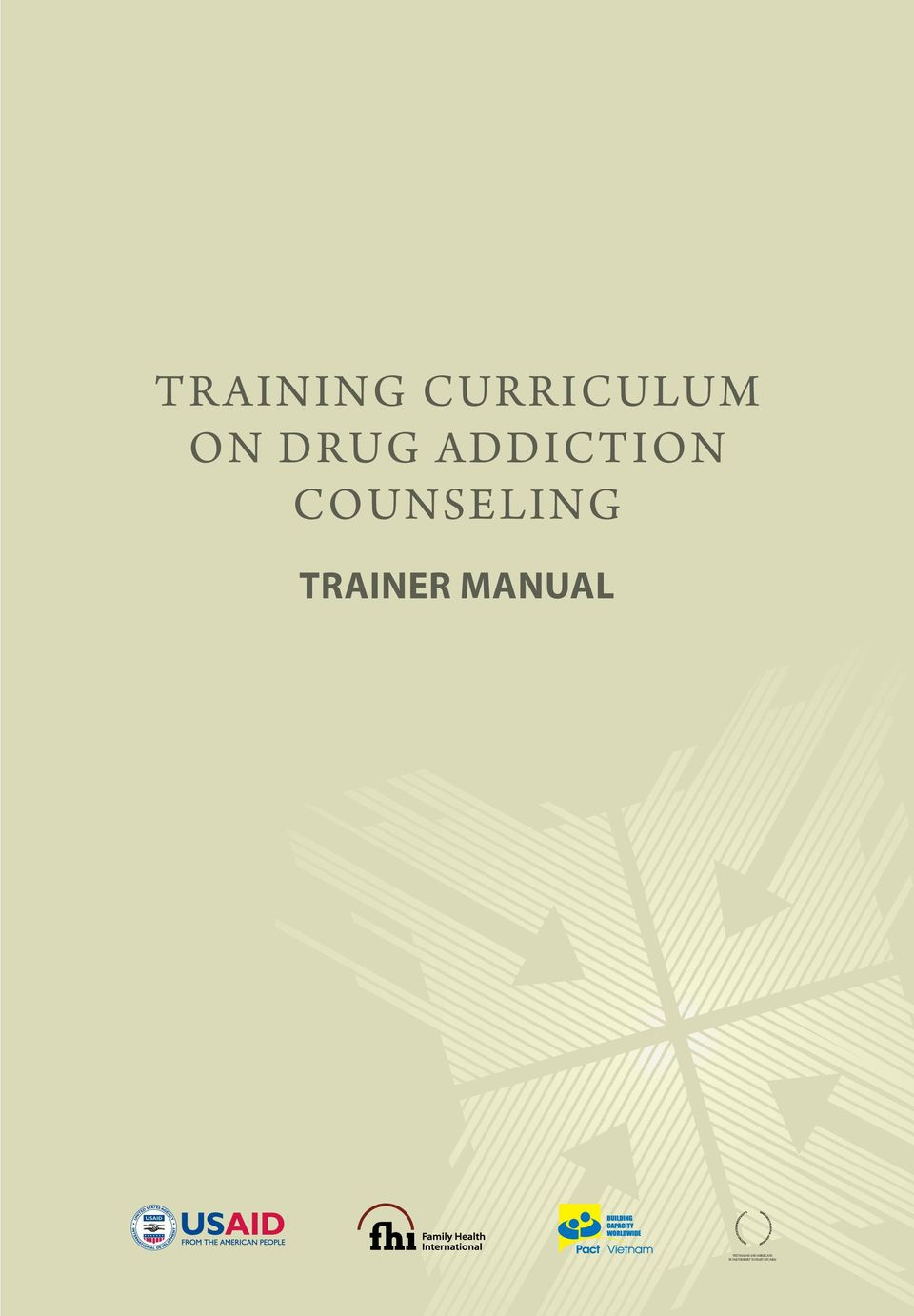 ADDICTION Counseling Trainer