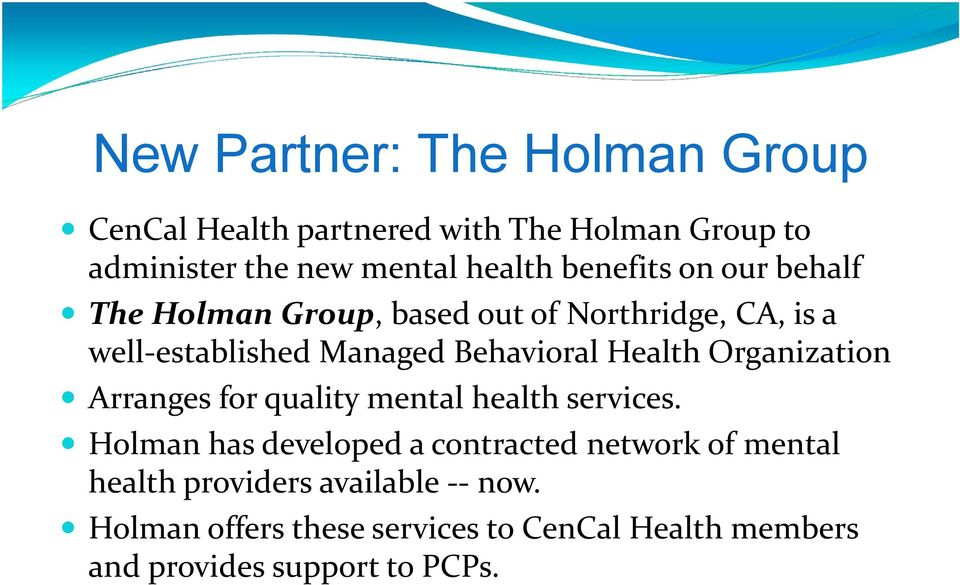 Health Organization Arranges for quality mental health services.