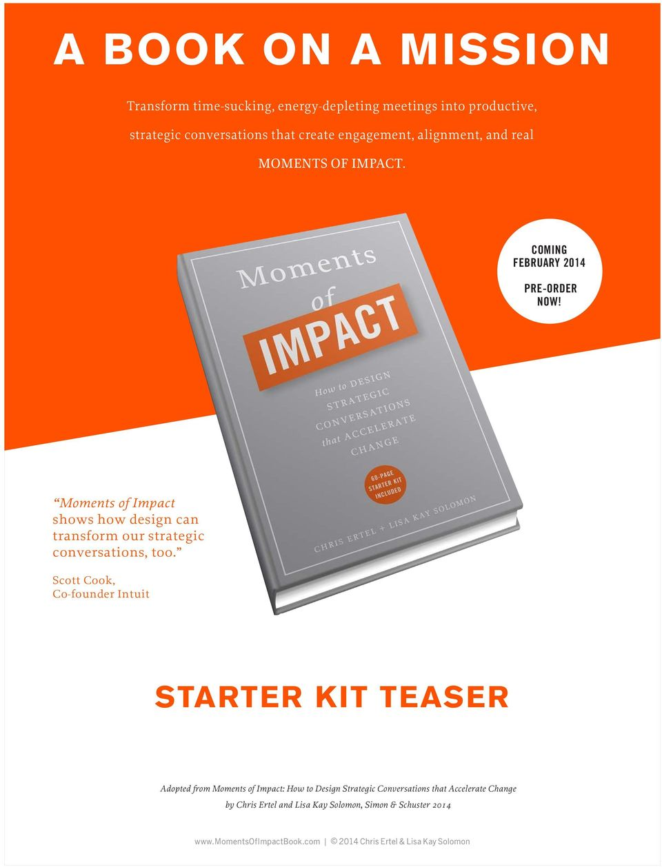 Moments of Impact shows how design can transform our strategic conversations, too.