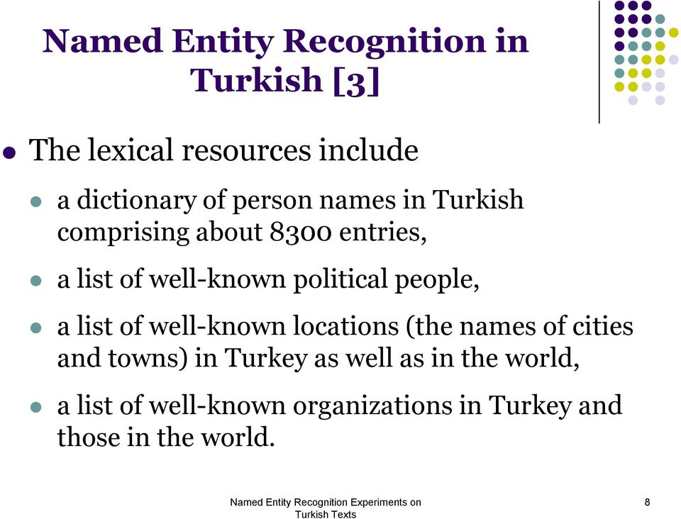 people, a list of well-known locations (the names of cities and towns) in Turkey as