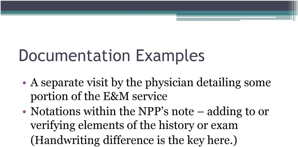 within the NPP s note adding to or verifying elements of