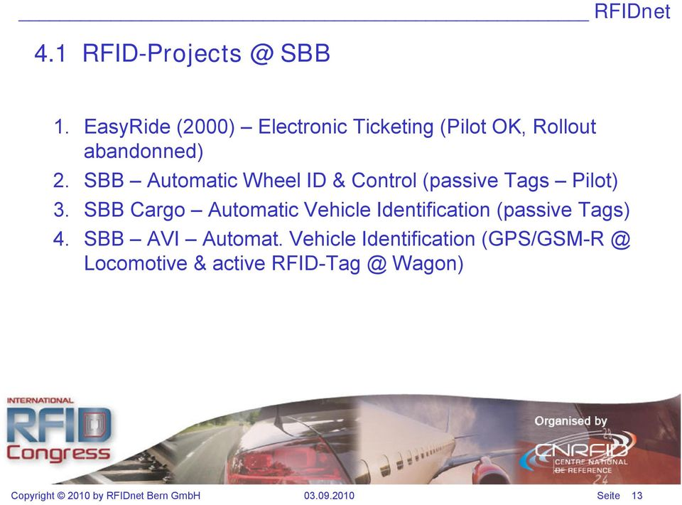 SBB Automatic Wheel ID & Control (passive Tags Pilot) 3.
