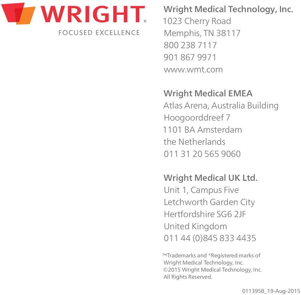 9060 Wright Medical UK Ltd.