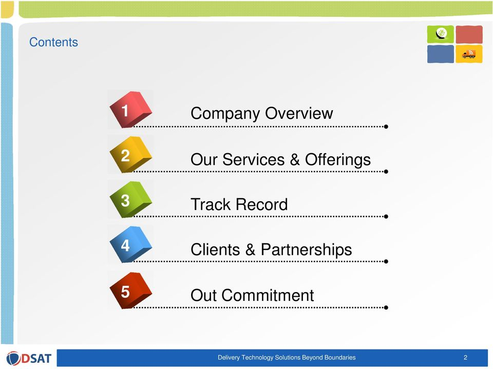 Clients & Partnerships Out Commitment