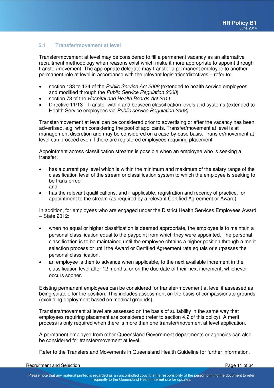 Human Resources Policy - PDF