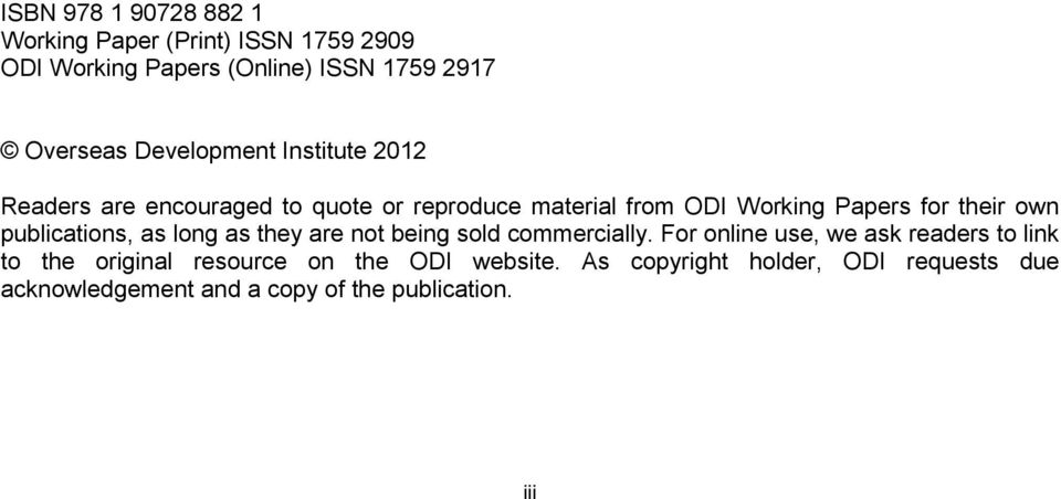 own publications, as long as they are not being sold commercially.