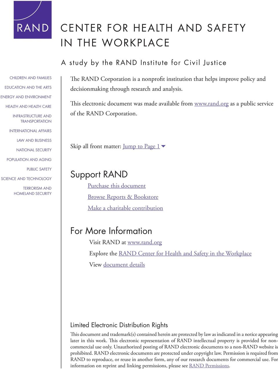 rand.org as a public service of the RAND Corporation.