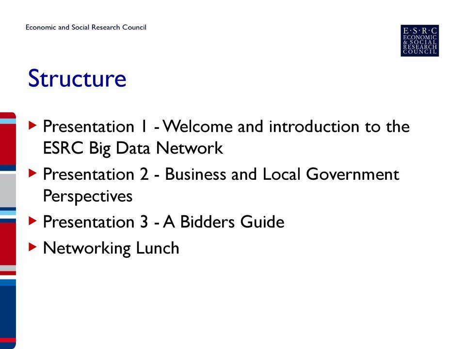 Presentation 2 - Business and Local Government