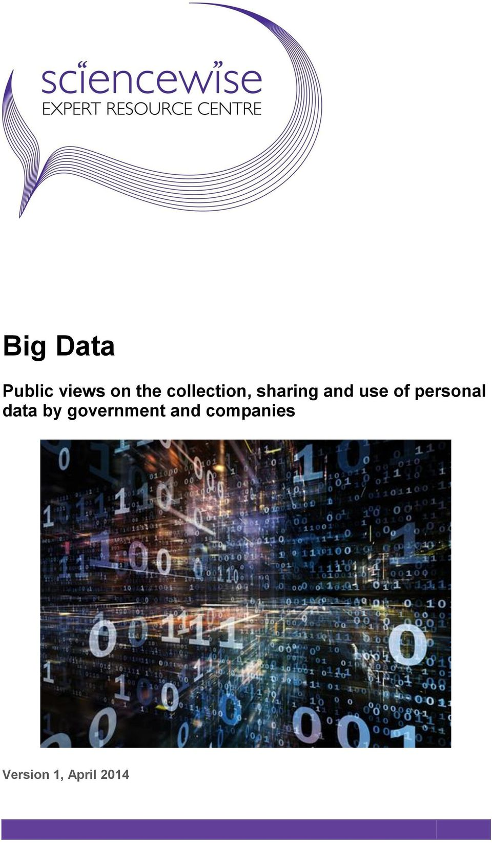 of personal data by