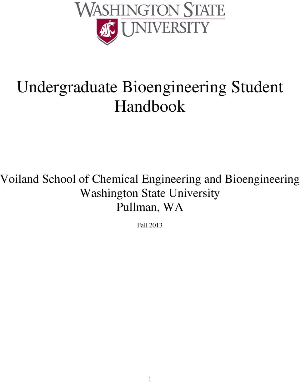 Engineering and Bioengineering