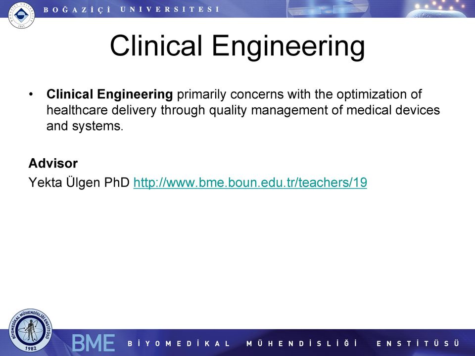 through quality management of medical devices and