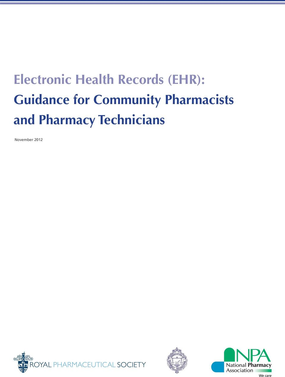 Community Pharmacists and
