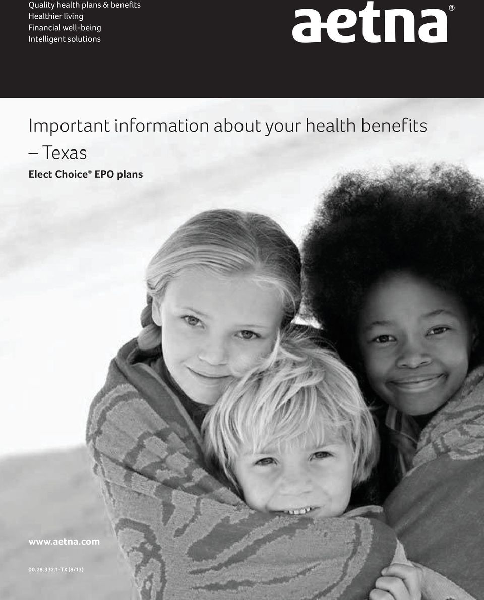 Important information about your health benefits