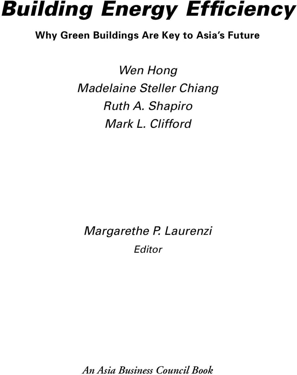 Steller Chiang Ruth A. Shapiro Mark L.