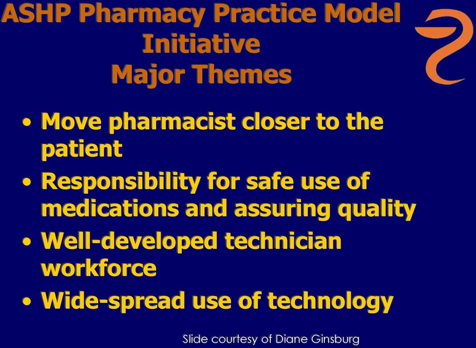 medications and assuring quality Well-developed technician