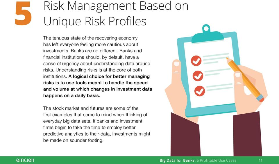 A logical choice for better managing risks is to use tools meant to handle the speed and volume at which changes in investment data happens on a daily basis.