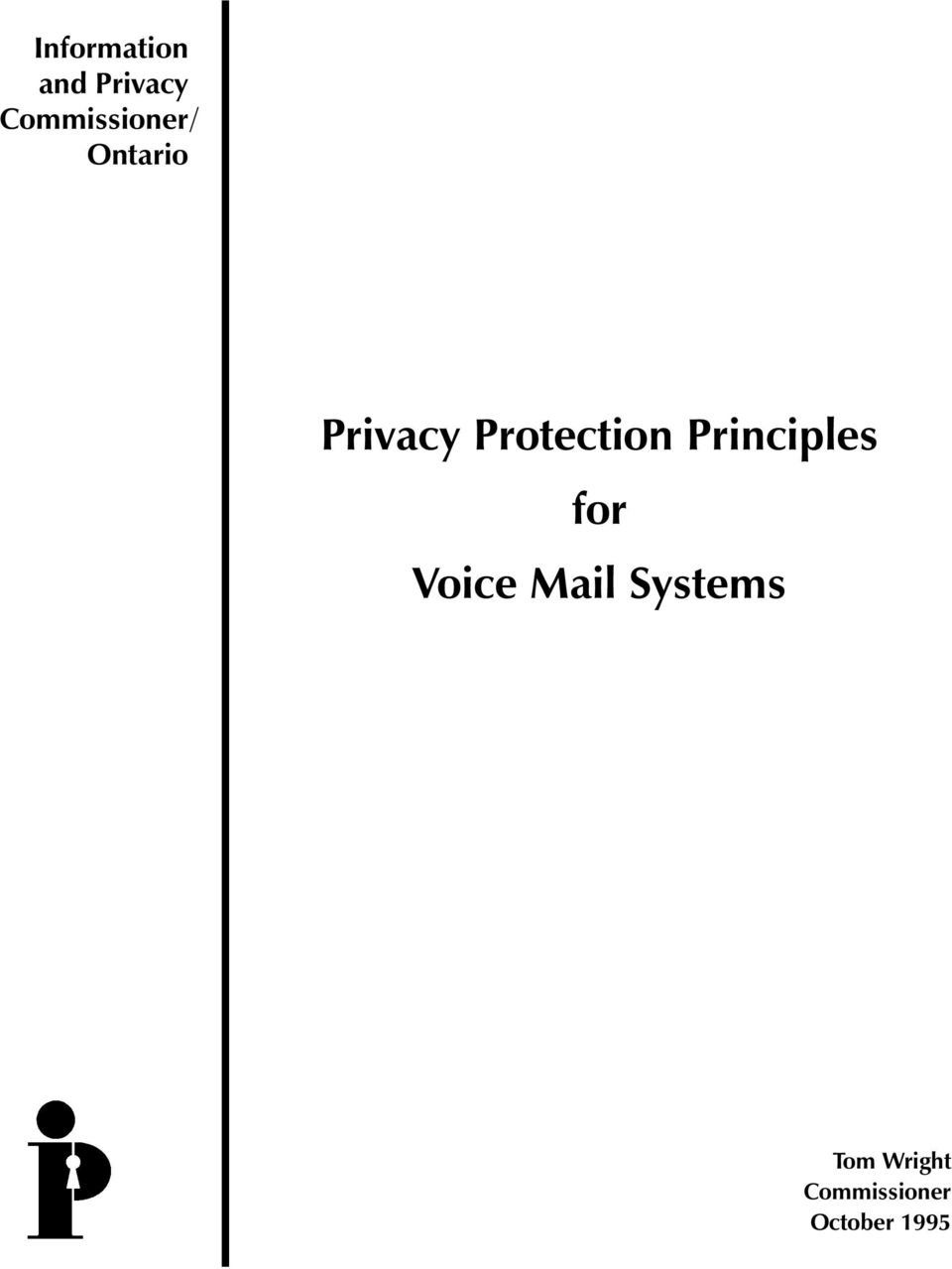 Protection Principles for Voice