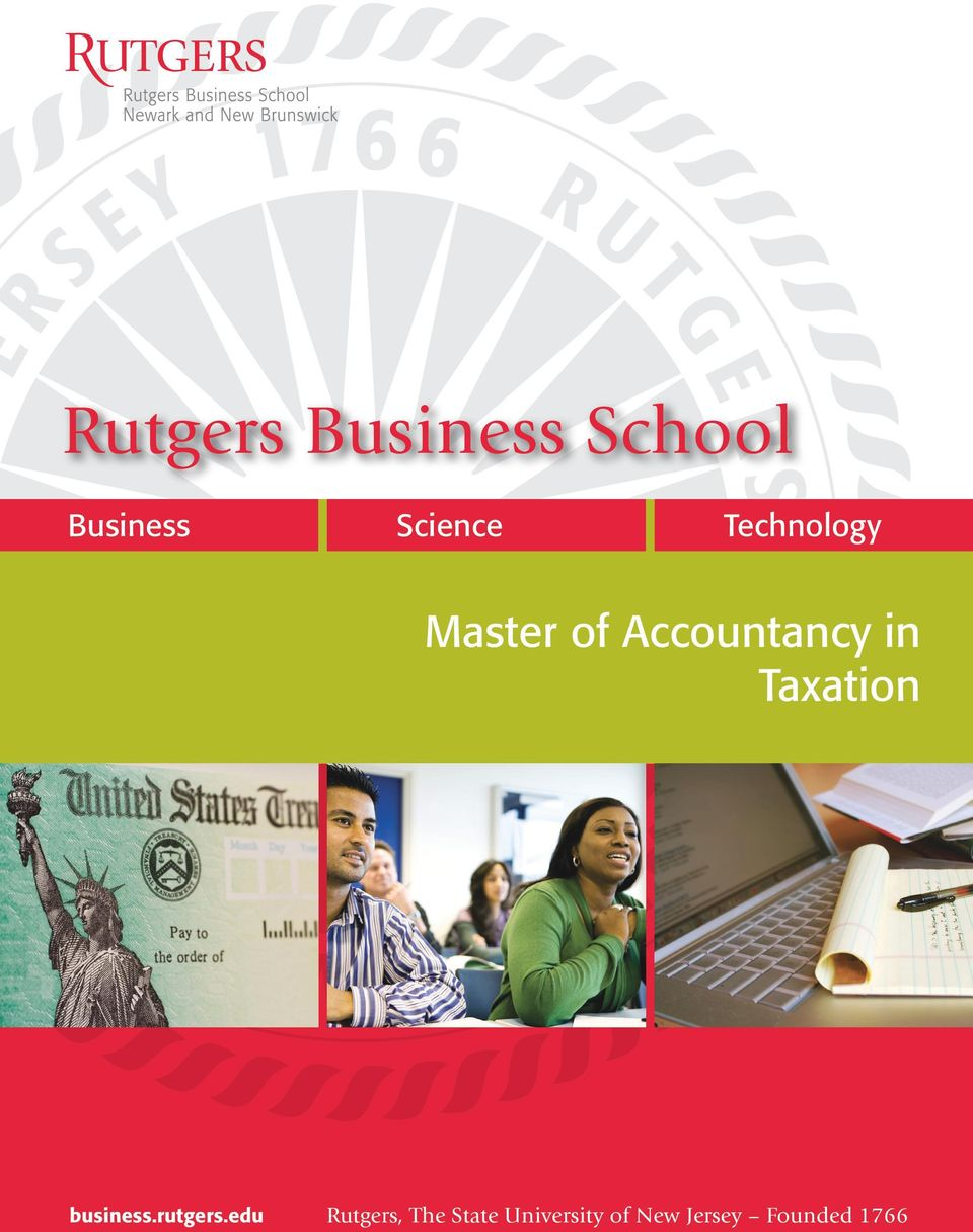 Taxation business.rutgers.
