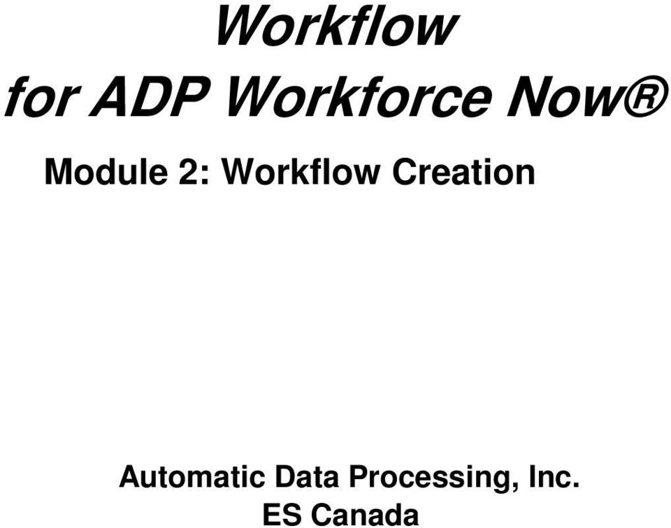 basic payroll for adp workforce now handout manual
