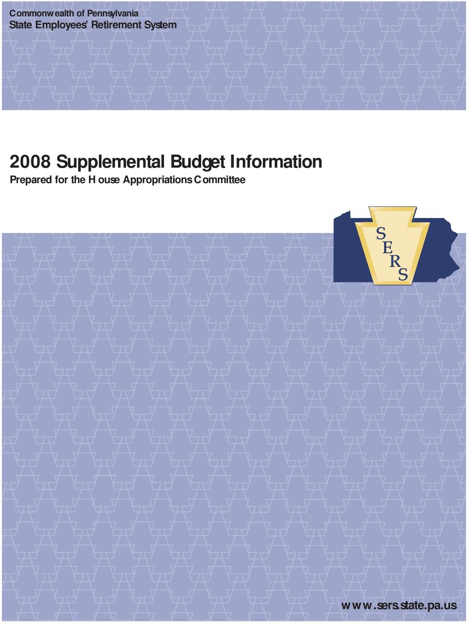 Supplemental Budget Information Prepared