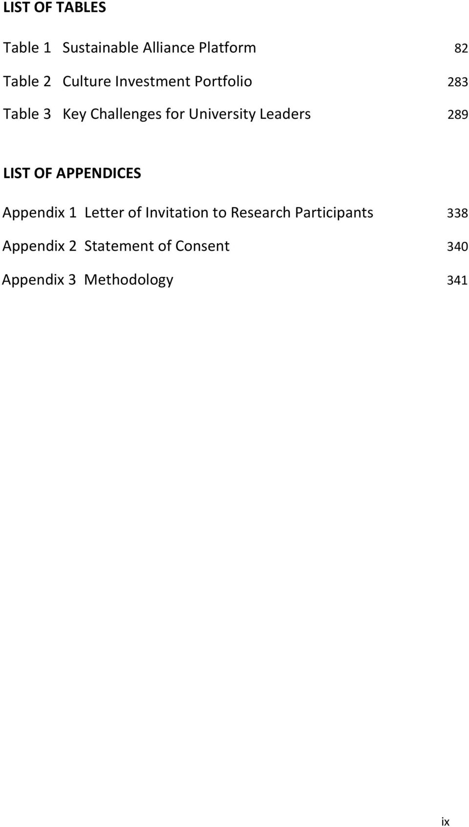 289 LIST OF APPENDICES Appendix 1 Letter of Invitation to Research