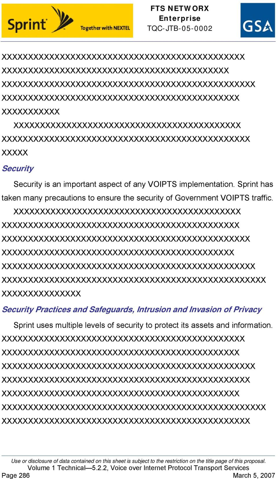 X X XX XXXX XXXXXXXXXXXXXXX Security Practices and Safeguards, Intrusion and Invasion of Privacy