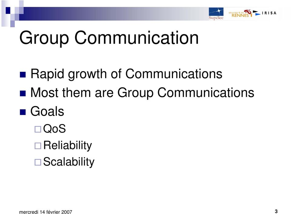 them are Group Communications