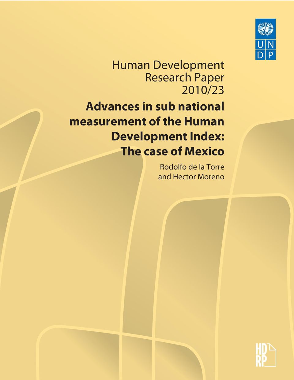 the Human Development Index: The case of
