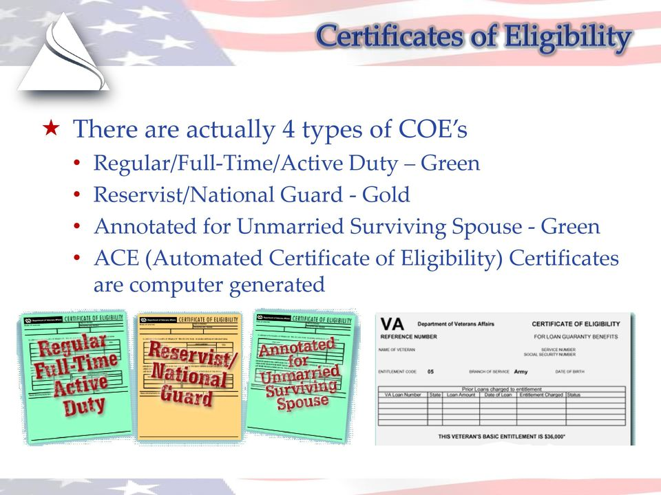 Guard - Gold Annotated for Unmarried Surviving Spouse -