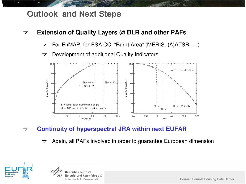 additional Quality Indicators Continuity of hyperspectral JRA within next