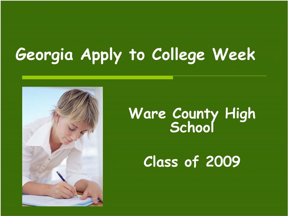 Ware County High
