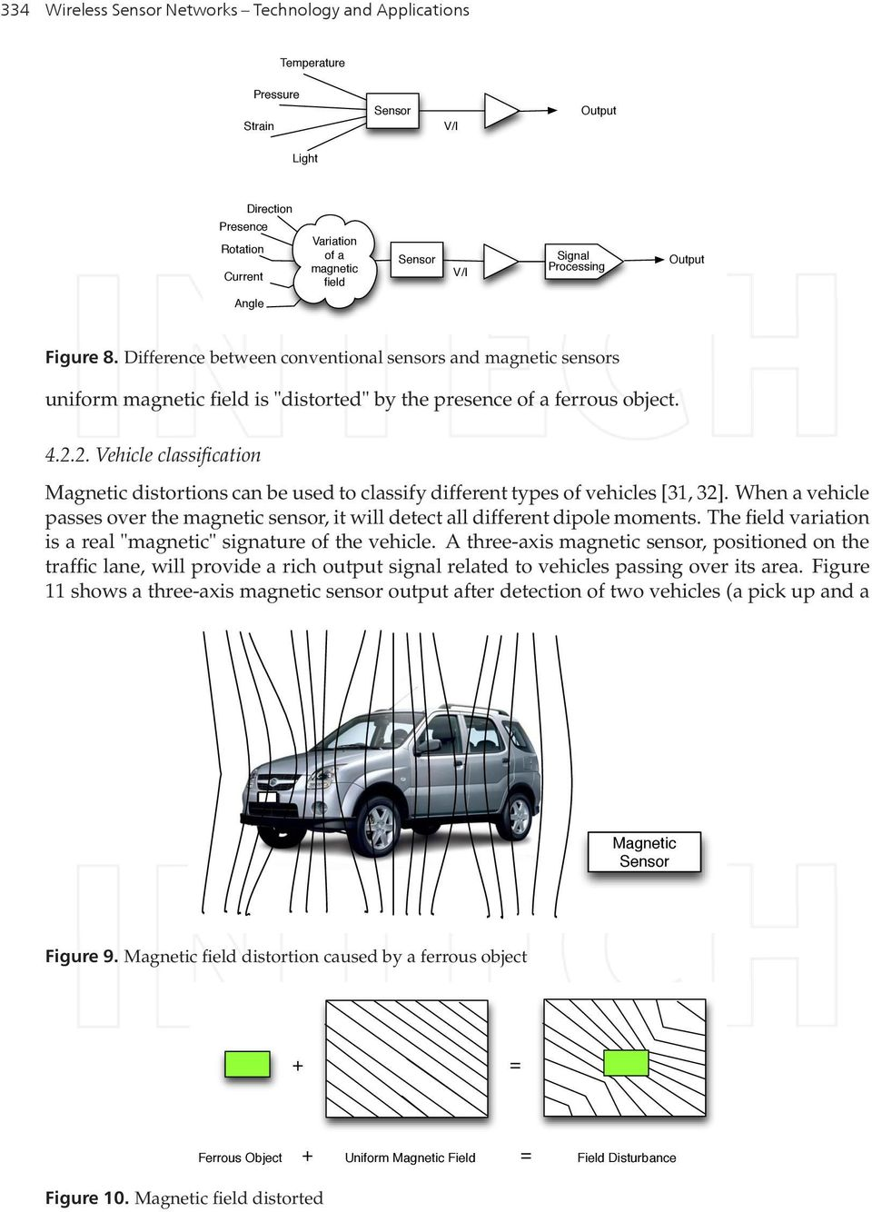 2. Vehicle classification Magnetic distortions can be used to classify different types of vehicles [31, 32]. When a vehicle passes over the magnetic sensor, it will detect all different dipole moments.