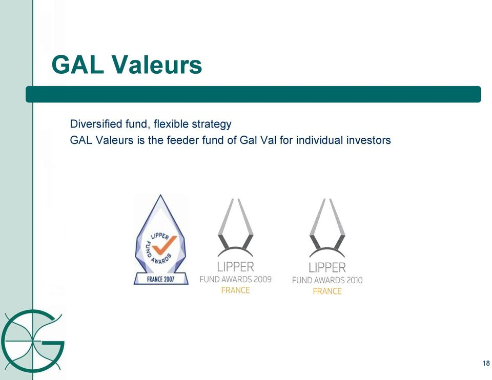 is the feeder fund of Gal Val